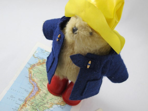 Beautiful Vintage Paddington Bear