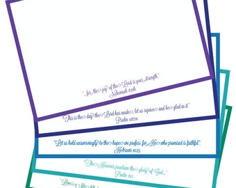 Bible Verse Note Cards
