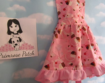 Children's Apron in a Cupcake Print