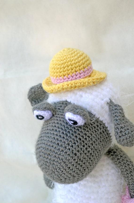 Cuddly Sheep Amigurumi Pattern : Crochet Amigurumi Sheep Handmade Plush Stuffed Toy Baby Cute