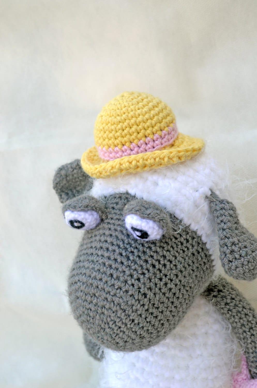 Etsy Amigurumi Sheep : Crochet Amigurumi Sheep Handmade Plush Stuffed Toy Baby Cute