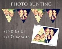 PRINTABLE PHOTO BANNER - send us up to 6 images and we'll create your photo banner