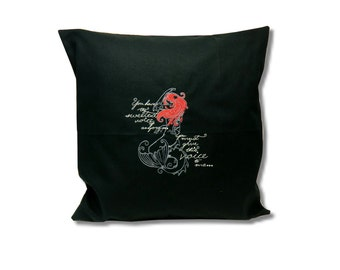 Dark Fairytale Cushion  The Little Mermaid