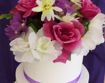 Mixed Floral Cake Topper