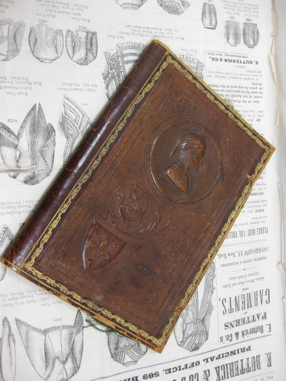 how to make a journal cover look old