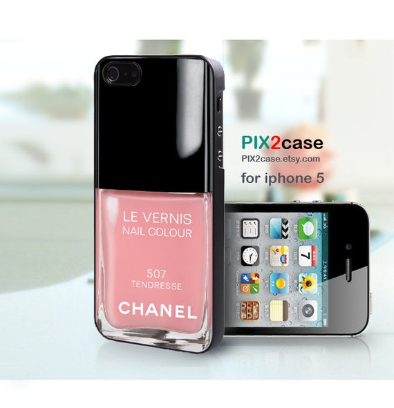 iPhone 5 Case - Nail Polish case - Girly Make Up iPhone 5 Case, Case for ipHone 5, Tendresse Nail Polish
