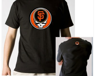 Grateful Dead Style Steal Your Giants T-shirt 100% 6.1oz Soft Cotton Shakedown Street SF