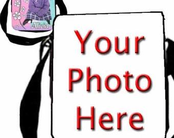 Personalized Custom Photo Ladies' Handbag Purse Bag w/ Replaceable Photo Flap