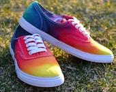 Rainbow Tie-Dye  Sneakers - AmyBrace
