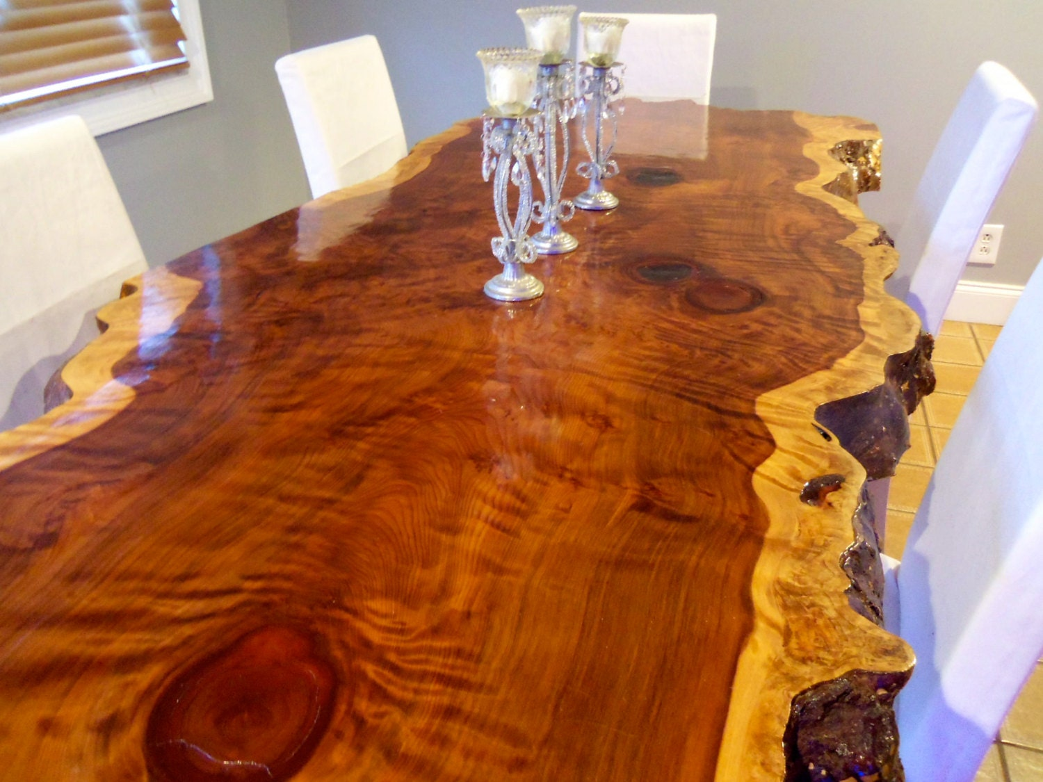 Live Edge Table Wood Slab Table Live Edge Dining By