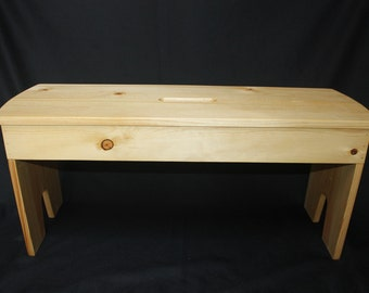 "3/4"" Pine Bench"