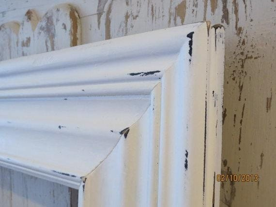 rustic frame shabby chic frame large rustic frame large shabby chic frame