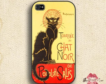 Le Chat Noir - (The Black Cat) Paris Cabaret - iPhone 4/4S 5/5S/5C/6/6+ and now iPhone 7 cases!! And Samsung Galaxy S3/S4/S5/S6/S7