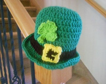 Adorable Saint Patrick's Day Baby Hat - 1-2 years