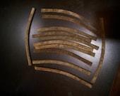 Industrial steel found objects