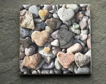 Heart Rock Tile HT3