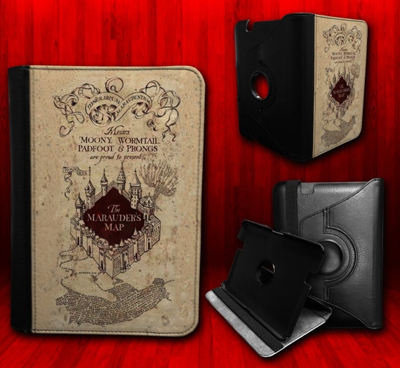 Harry Potter Book Kindle Case : Harry potter the marauders map edition by customizemeaz