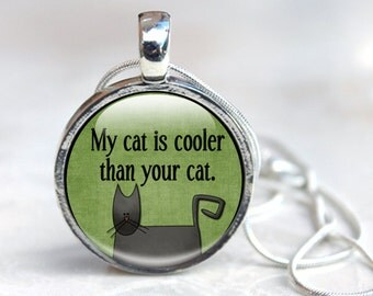 Cat Pendant, Cat Jewelry, Cat Necklace, Cat Pendant Jewellery, Best Cat Lovers Gift, Animal Jewelry