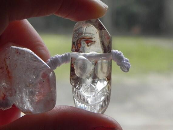 gemstone, carved Skull beads, quartz skull beads, large quartz skull beads, gemstone skull beads, worldwide shipping