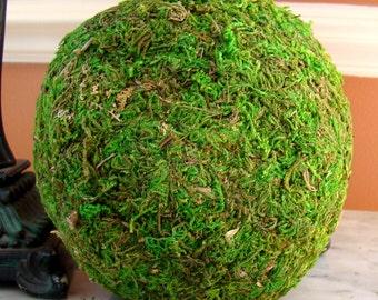 6'' Moss Balls Preserved, Decor, Wedding Decor, Woodland Moss Balls