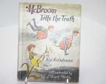 Vintage McBroom Tells the Truth Book 1966-Very Entertaining