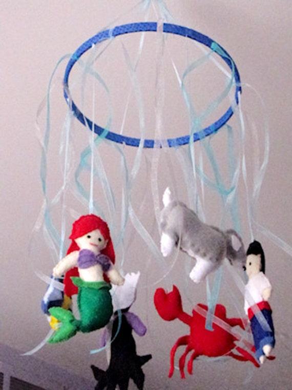 Items Similar To Disney The Little Mermaid Ariel Nursery