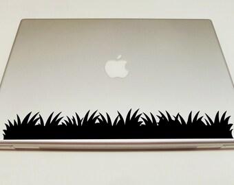 Macbook Decal grass decal Macbook Stickers laptop decal iPad decals for macbook 009