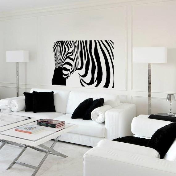 Ti Design Wall Art : Wall decal zebra vinyl sticker home arts animal decals
