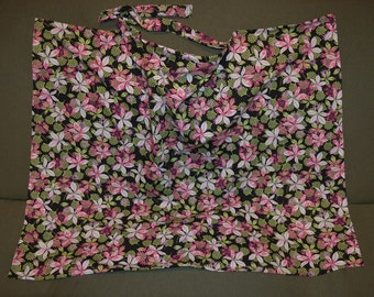 Apron for Breastfeeding Flowers