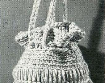 CROCHET PATTERN -- Lantern Bag 042