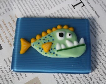 Monstrous Fish Wall Tile