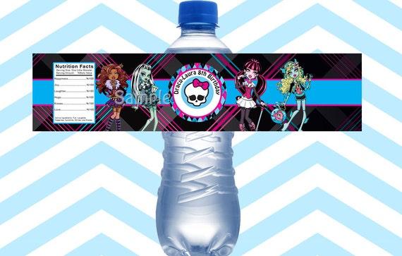 Free Printable Monster High Labels Monster High Printable