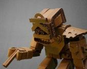 Cardboard Articulated Robot