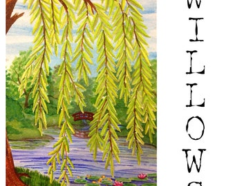 Willows PRINT of original painting