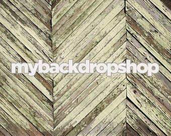 6ft x 4ft Distressed Gray Wood Backdrop - Photography Studio Backdrop -  Item 131