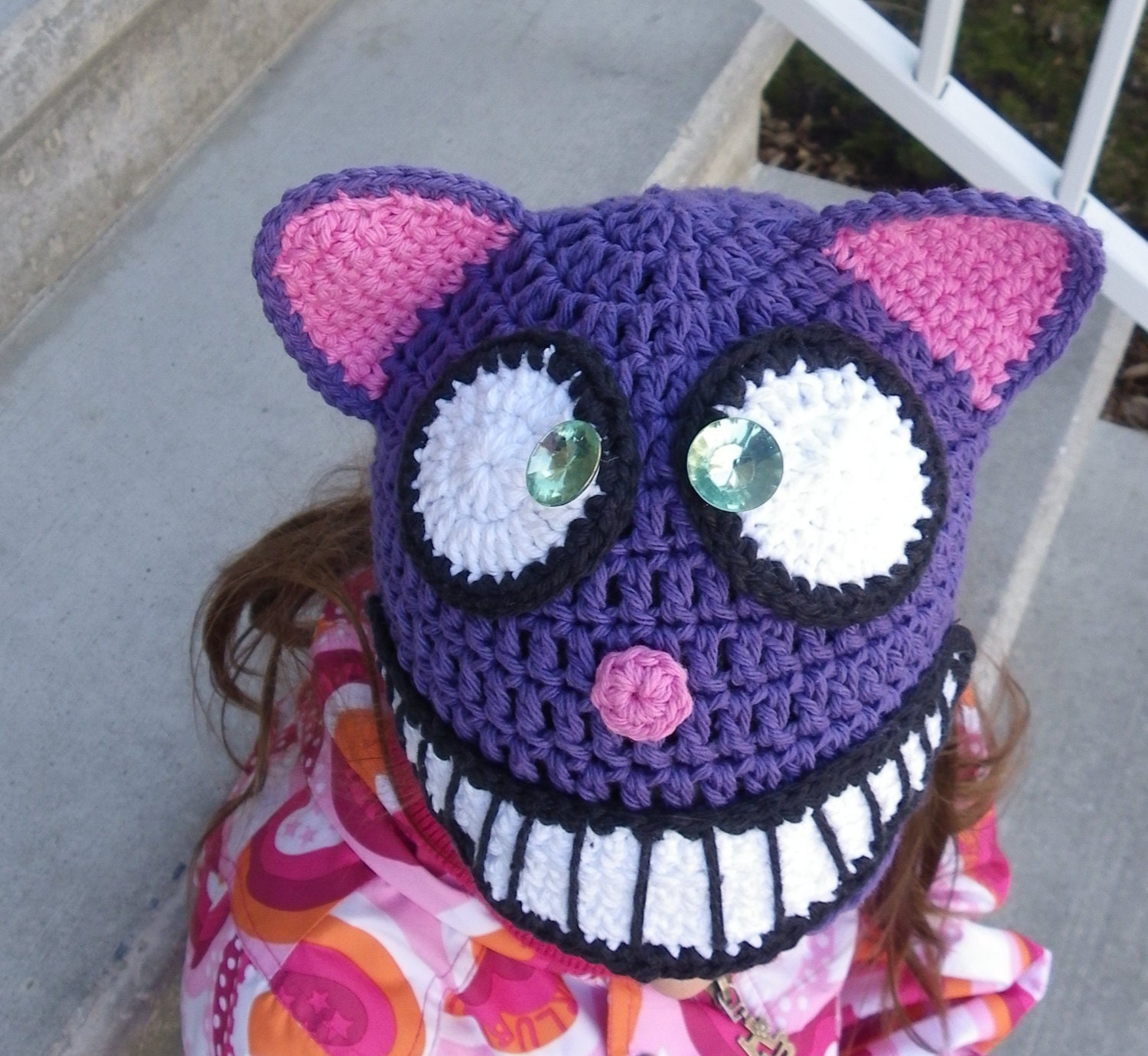Crochet beanie pattern animal crochet hatcheshire cat hat zoom bankloansurffo Image collections