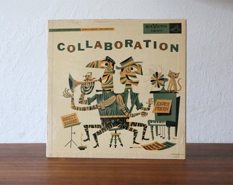 """Jim Flora Collaboration Shorty Rogers 12"""" LP Record Cover"""