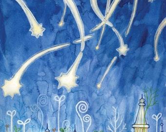 The Stars Fell print - 8x10