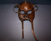 Leather Pig Man Mask
