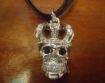 Crowned Skull Necklace