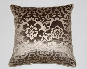 18 x 18 Inches  Brown Decorative Pillows