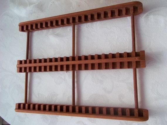 Vintage Teak Wood Cd Rack By Kalmar Designs By Cjscollection