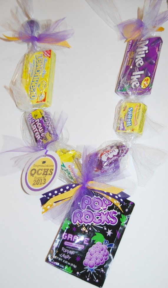 Items Similar To Edible School Graduation Candy Lei On Etsy