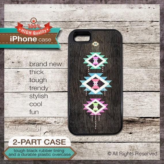 iPhone 6, 6+, 5 5S, 5C, 4 4S, Samsung Galaxy S3, S4 - Geometric Tribal Modern - Design Cover 45