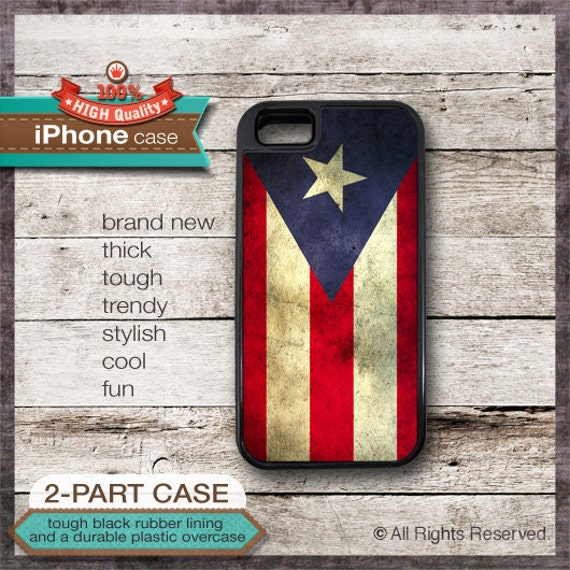 Puerto Rico Flag - iPhone 6, 6+, 5 5S, 5C, 4 4S, Samsung Galaxy S3, S4
