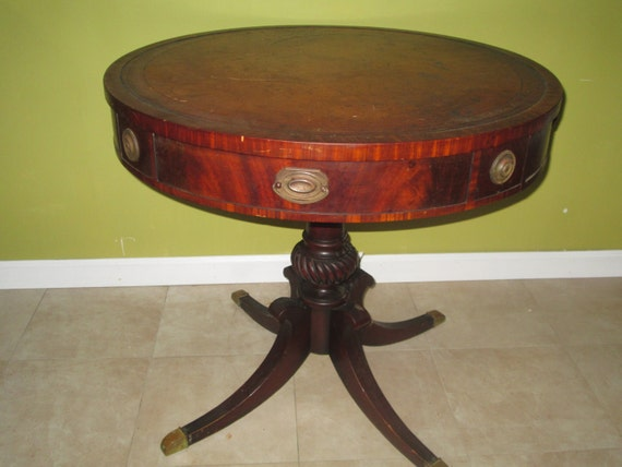 Items Similar To 30% OFF, Antique Round Table, Vintage