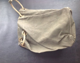 French Canvas Feed Bag