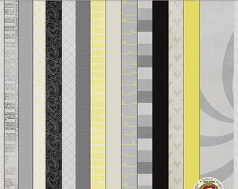 Drop Me a Line Digital Paper Scrapbooking Set