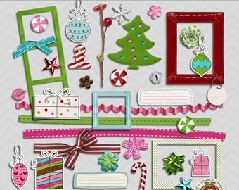 Merry Merry Digital Element Set