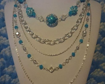 Skies of Blue Necklace